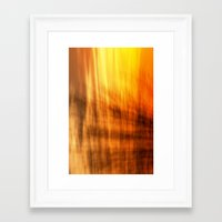 tapestry Framed Art Prints featuring Tapestry by Mark Alder