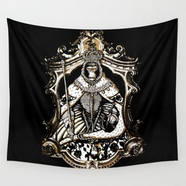monkey queen  Wall Tapestry