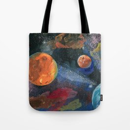 An unknown world Tote Bag