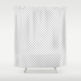 Transparency Pattern Shower Curtain