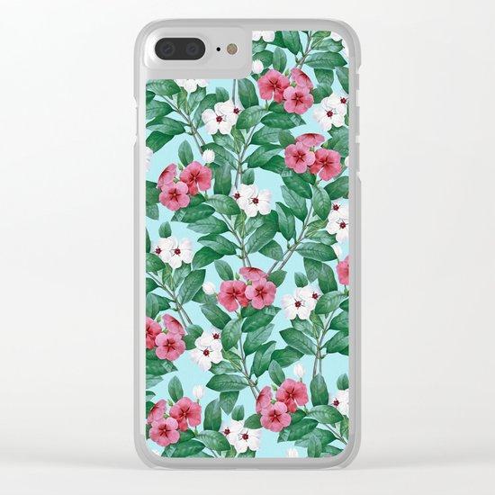 Flower garden II Clear iPhone Case