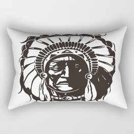NATIVE AMERICANS Rectangular Pillow