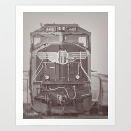 Uniton Pacific Art Print