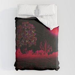 Fuchsia Moon Comforters