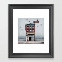 Urban Realty Framed Art Print