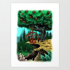 Under the Mango Tree Art Print