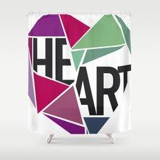 BROKEN HEART Shower Curtain