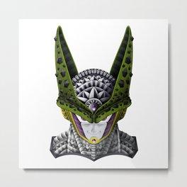 Ornate Cell DBZ Metal Print