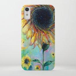 Supermassive Sunflowers iPhone Case