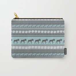 Moose Pattern Carry-All Pouch