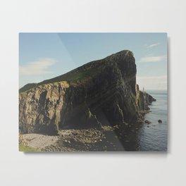 Ocean Lighthouse Metal Print