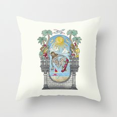 The Lord of the Board Throw Pillow