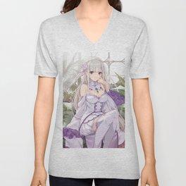 Emilia Unisex V-Neck