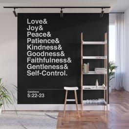 GALATIANS 5:22-23 Wall Mural