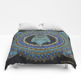 Blue Moon Owl Comforters