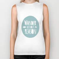 wander Biker Tanks featuring Wander by Zen and Chic