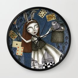 The Magic Act Wall Clock