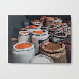 Ethiopian Shopping Metal Print