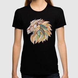Ethnic Tribal Lion Doodle 01 T-shirt