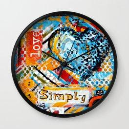 Love, Simply... Wall Clock