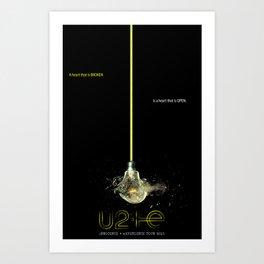 Innocence Shattered: I+E Tour print Art Print