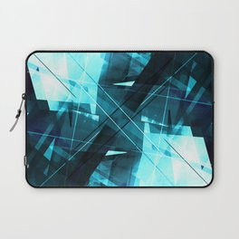 Iceless - Geometric Abstract Art Laptop Sleeve
