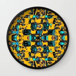 Abstract BB DW Wall Clock