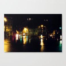 Cool Parisian Evening Canvas Print