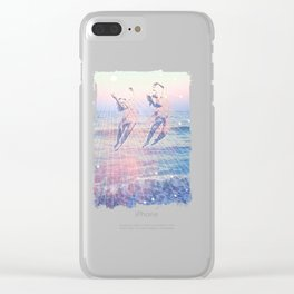 Elementalists under the Sunset Clear iPhone Case