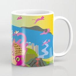 Mews in Hawaii Coffee Mug