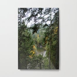 waterfall in the distance Metal Print
