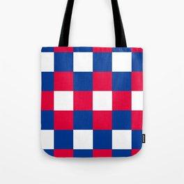 Checkered Flag - Tricolore Tote Bag