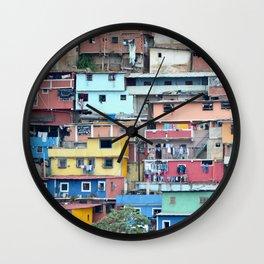 Venezuelan Tetris Wall Clock