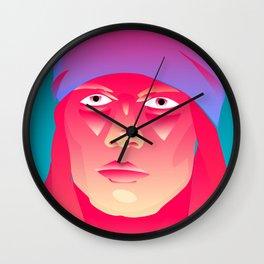 Neon Indian Wall Clock