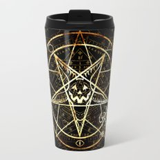 Cult of the Great Pumpkin: Pentagram Travel Mug