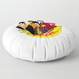 Yellow Submarine - Pop Art Floor Pillow