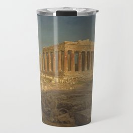 The Parthenon by Frederic Edwin Church Travel Mug