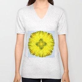kaleidoscope - Flower Unisex V-Neck