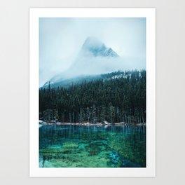 Grassi Lakes III Art Print