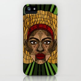 AFRICAN WOMEN iPhone Case