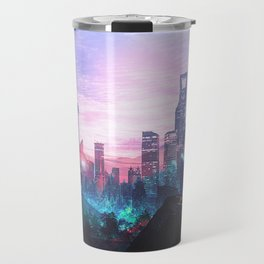 Io Alpha: Scifi City Travel Mug