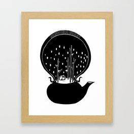 - Tea Time - Framed Art Print
