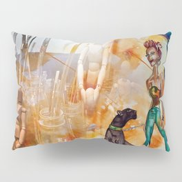The Tools of Illustration Pillow Sham