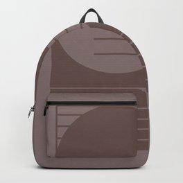 Monochromatic sun Backpack