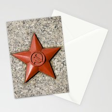 Soviet star Stationery Cards