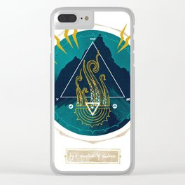 The Mountain o Madness Clear iPhone Case