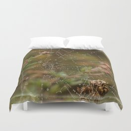Fairy Whispers - Nature Art Duvet Cover
