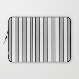 Strips 9-line,band,striped,zebra,tira,linea,rayas,rasguno,rayado. Laptop Sleeve