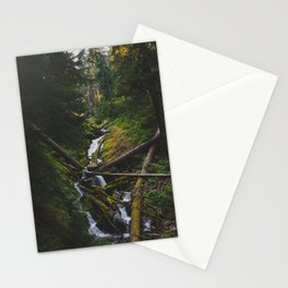 Cascades - Pacific Crest Trail, Washington Stationery Cards
