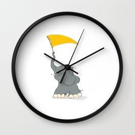 Waving the flag Wall Clock
